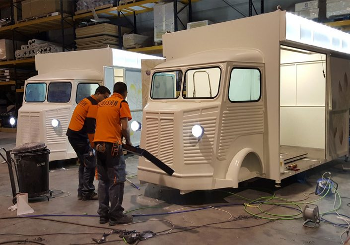 Fabricantes de Food Trucks Zamora