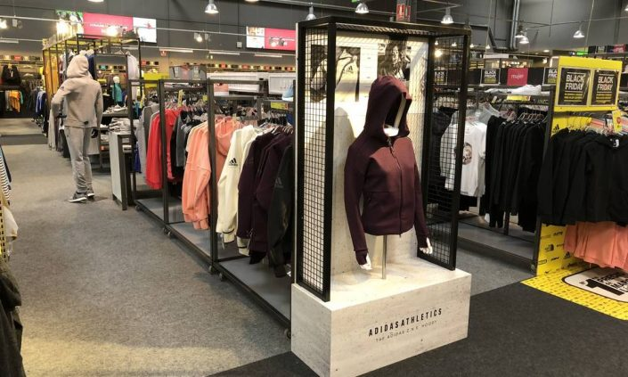 Visual merchandising Zamora