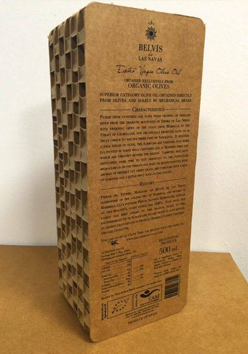 Packaging de cartón Jaén