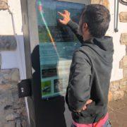 Tótem interactivo para exterior. Digital Signage